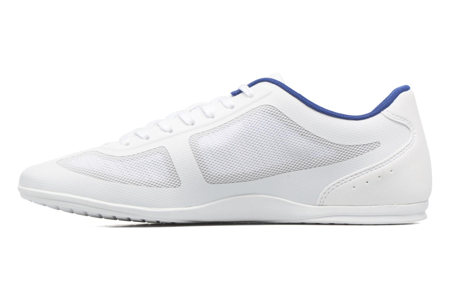 Trainers Lacoste Misano Evo 117 1 White front view