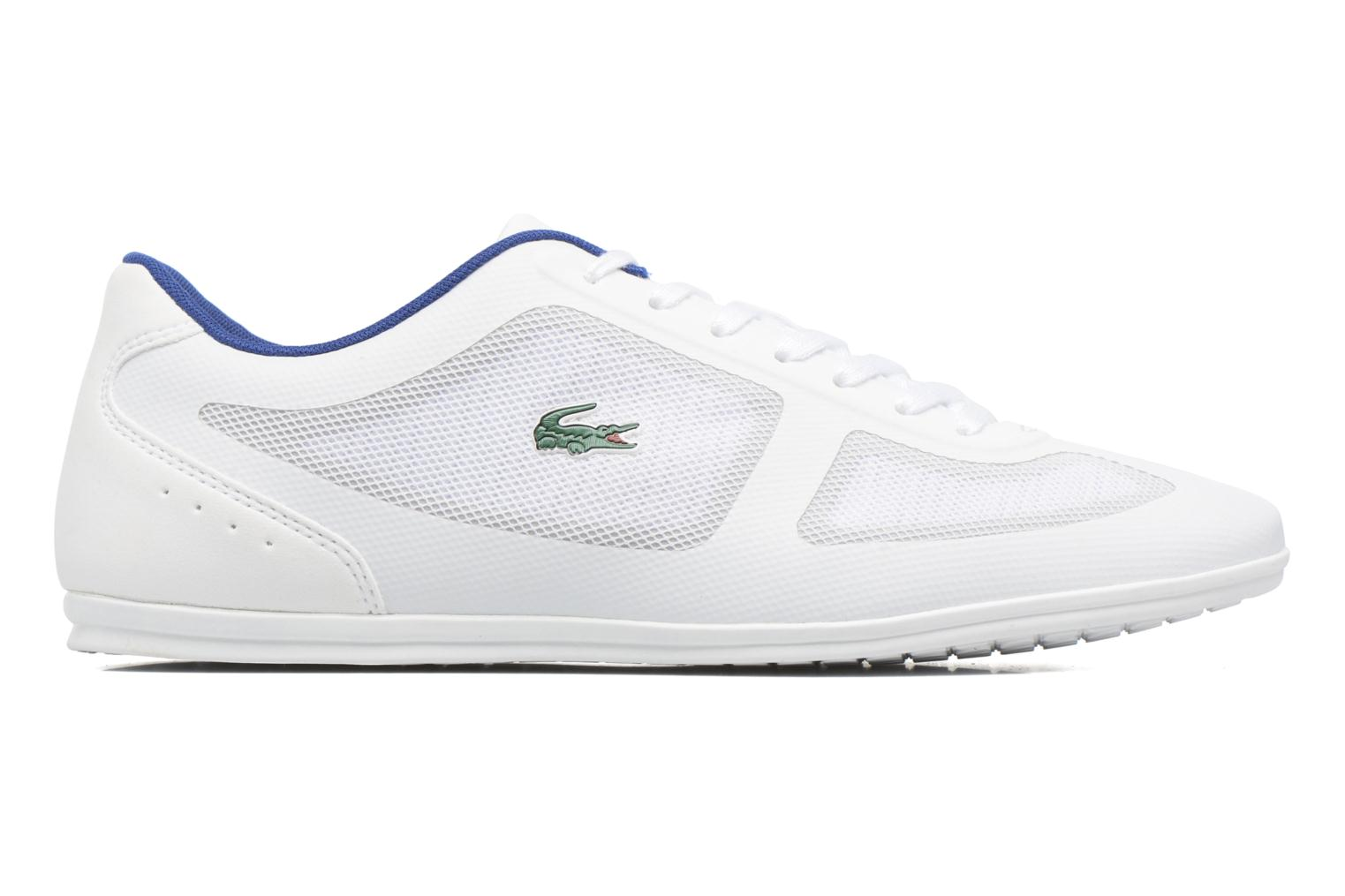 Trainers Lacoste Misano Evo 117 1 White back view
