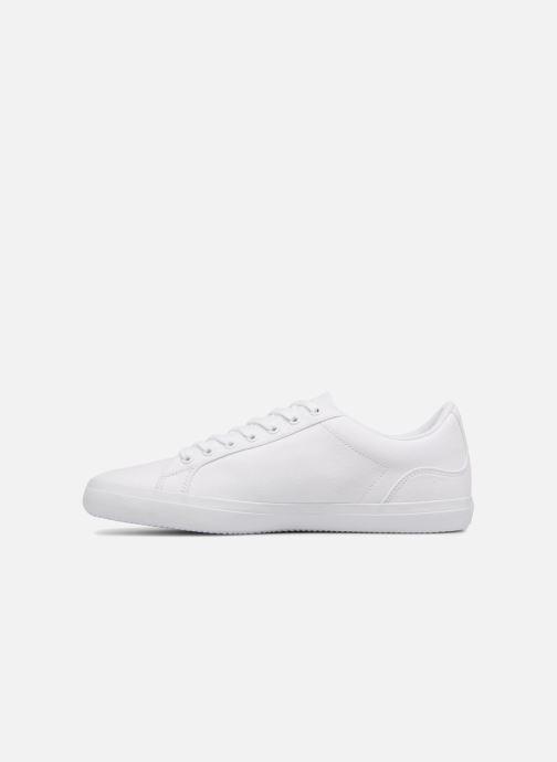 Sneaker Lacoste Lerond BL 2 weiß ansicht von vorne