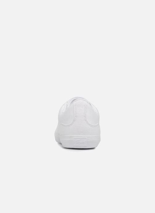 Sneaker Lacoste Lerond BL 2 weiß ansicht von rechts