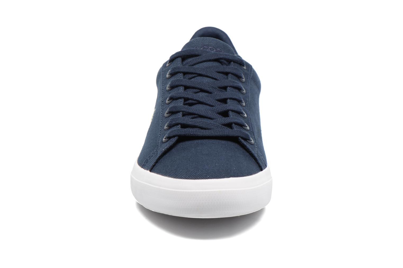 Baskets Lacoste Lerond BL 2 Bleu vue portées chaussures