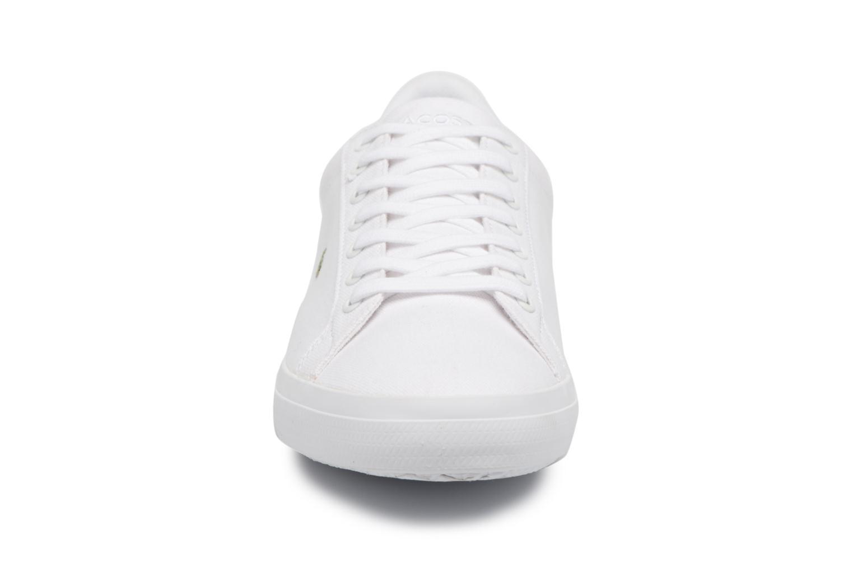 Sneakers Lacoste Lerond BL 2 Bianco modello indossato