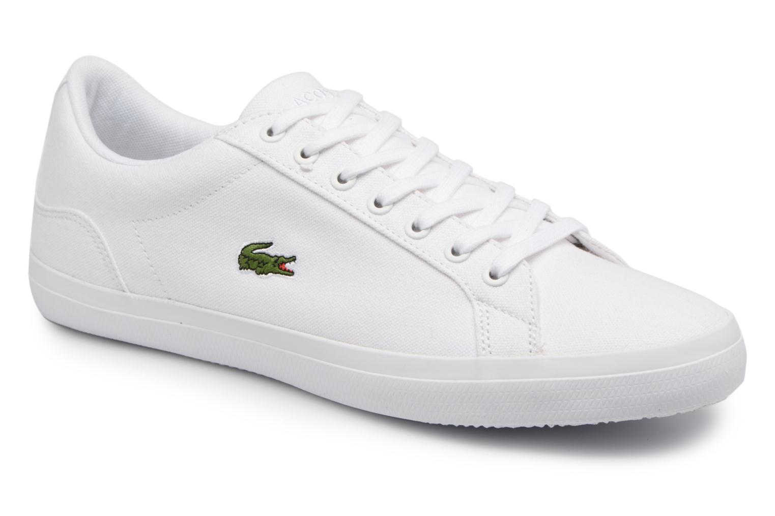 Trainers Lacoste Lerond BL 2 White detailed view/ Pair view