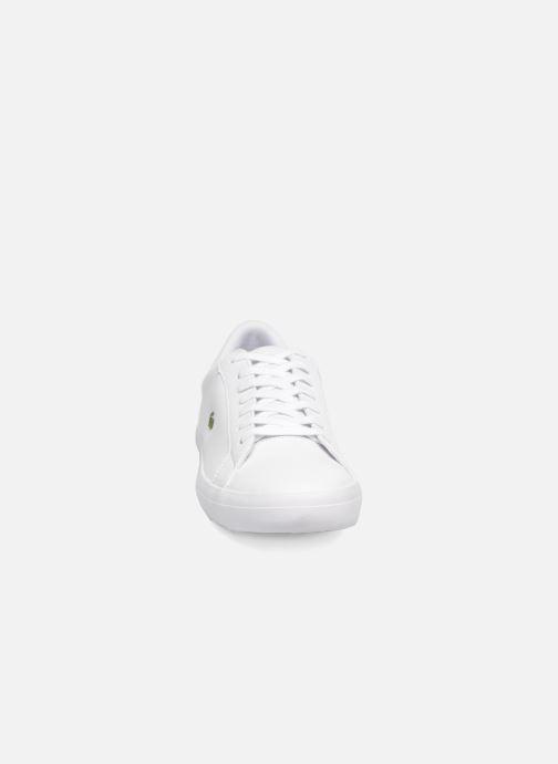 Sneakers Lacoste Lerond BL 1 Bianco modello indossato