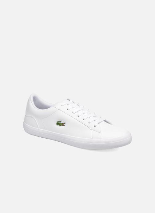 Sneakers Lacoste Lerond BL 1 Hvid detaljeret billede af skoene