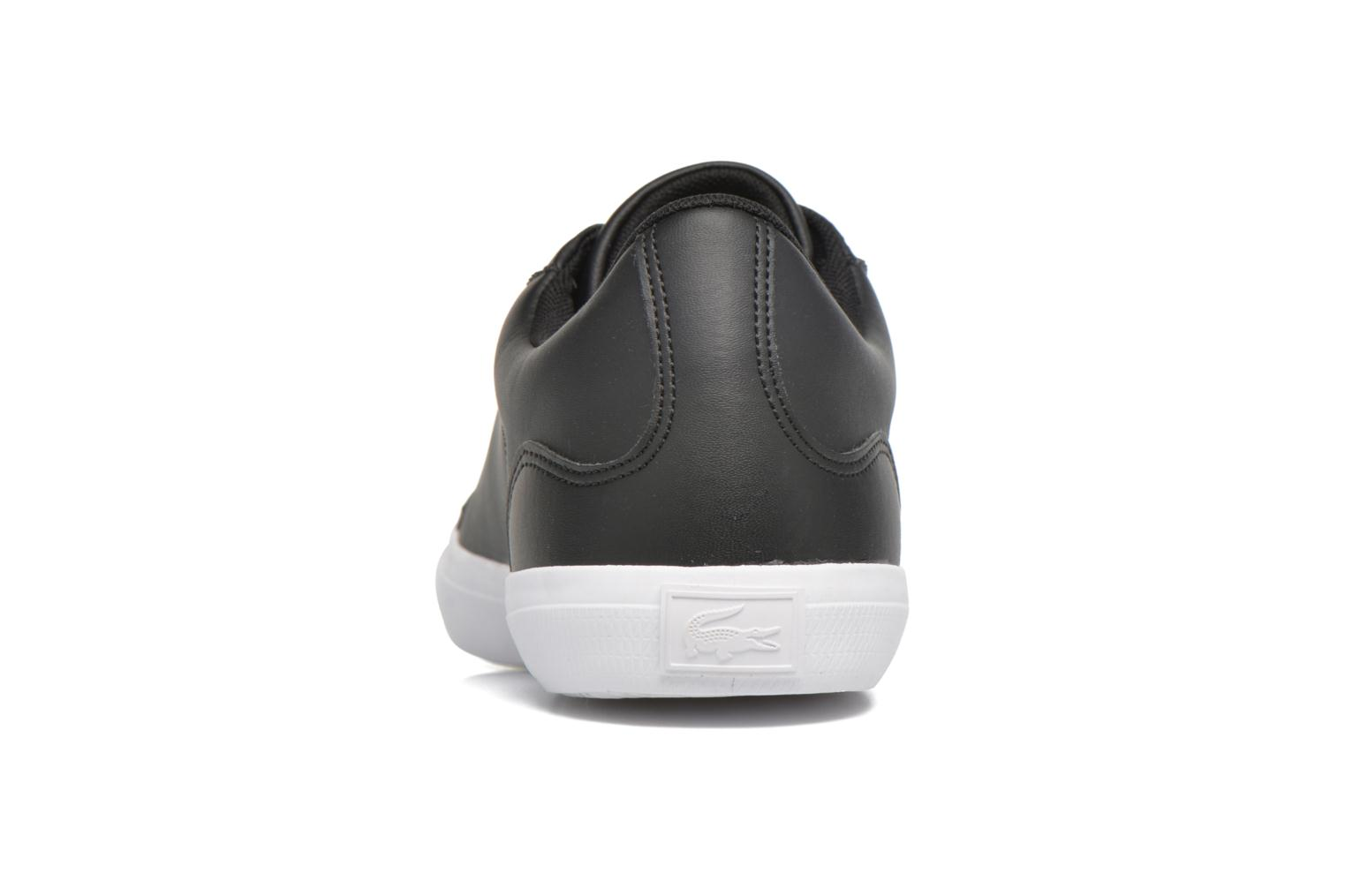 Trainers Lacoste Lerond BL 1 Black view from the right