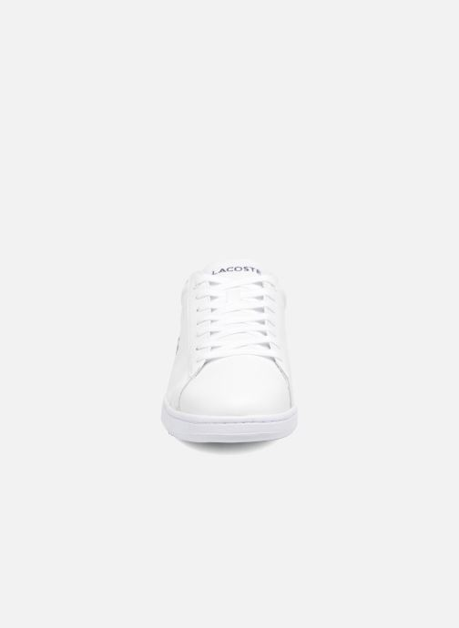 Baskets Lacoste Carnaby Evo BL 1 Blanc vue portées chaussures