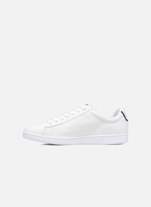 Sneakers Lacoste Carnaby Evo BL 1 Bianco immagine frontale