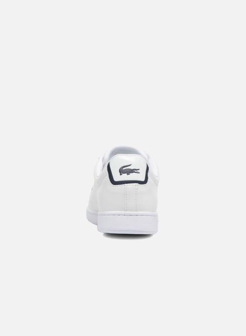 Sneakers Lacoste Carnaby Evo BL 1 Hvid Se fra højre