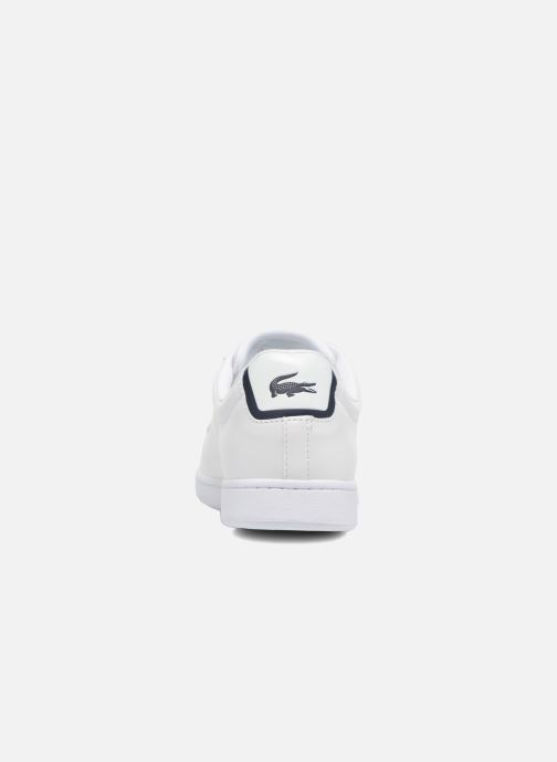 Baskets Lacoste Carnaby Evo BL 1 Blanc vue droite