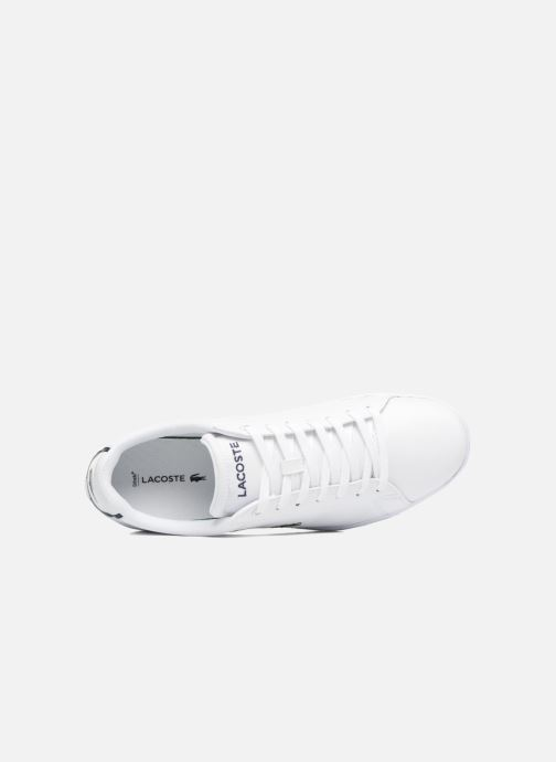 Sneakers Lacoste Carnaby Evo BL 1 Bianco immagine sinistra