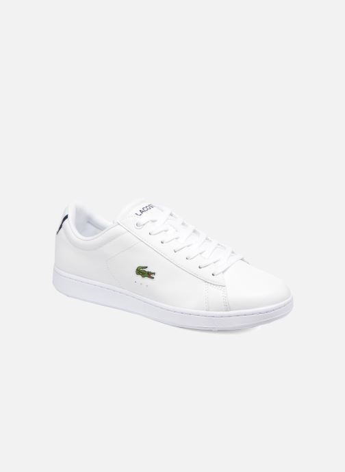 Baskets Lacoste Carnaby Evo BL 1 Blanc vue détail/paire