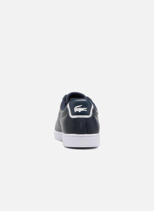 Sneaker Lacoste Carnaby Evo BL 1 blau ansicht von rechts