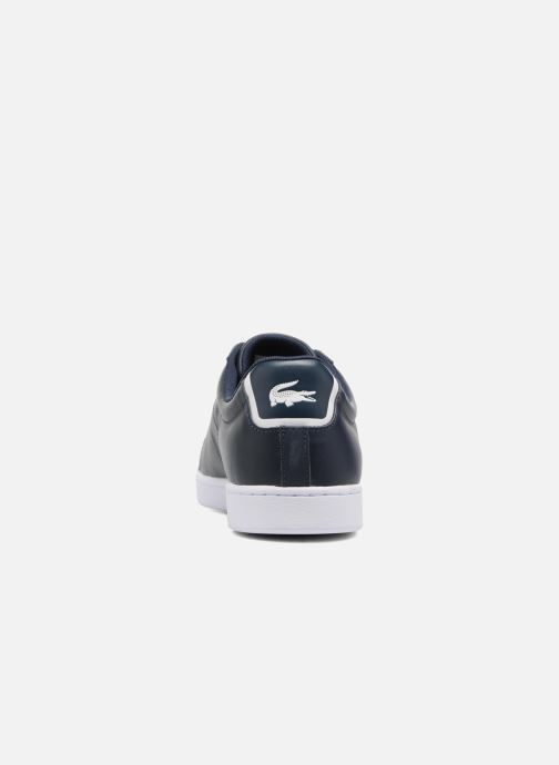 Sneakers Lacoste Carnaby Evo BL 1 Blauw rechts