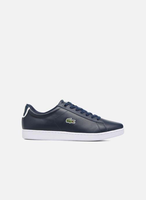 Sneaker Lacoste Carnaby Evo BL 1 blau ansicht von hinten