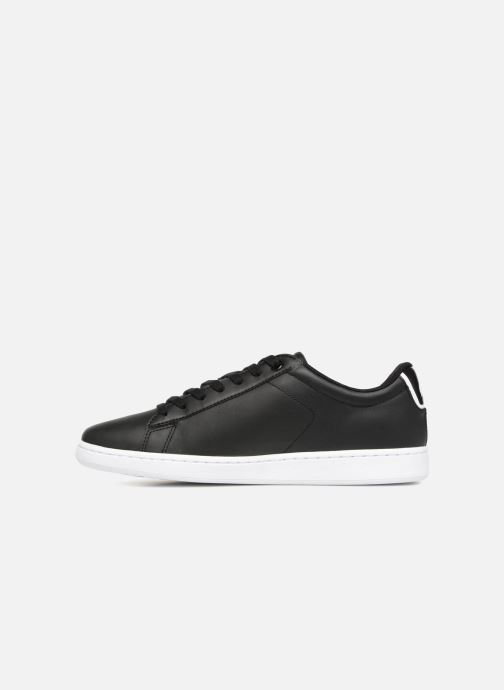 Sneaker Lacoste Carnaby Evo BL 1 schwarz ansicht von vorne