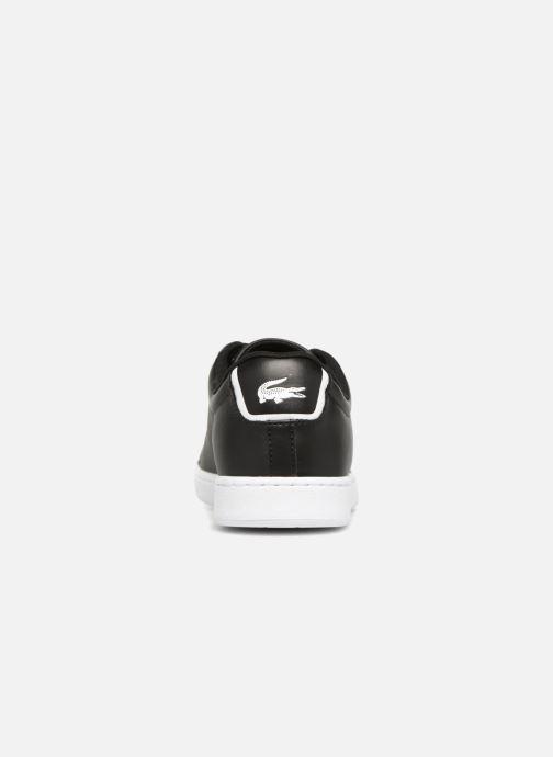Sneaker Lacoste Carnaby Evo BL 1 schwarz ansicht von rechts
