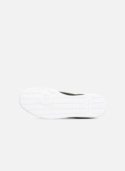 Sneaker Lacoste Carnaby Evo BL 1 schwarz ansicht von oben