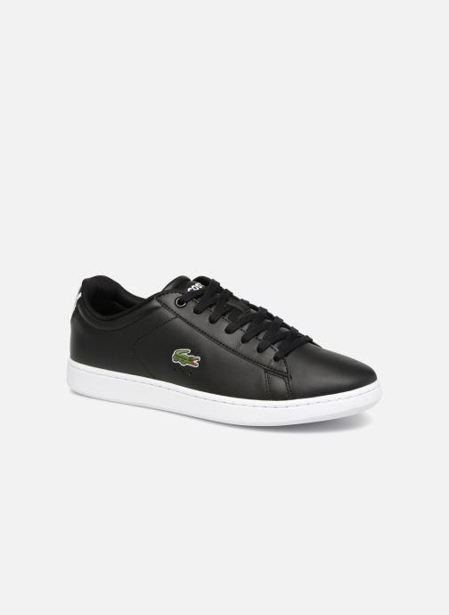 Sneaker Lacoste Carnaby Evo BL 1 schwarz detaillierte ansicht/modell