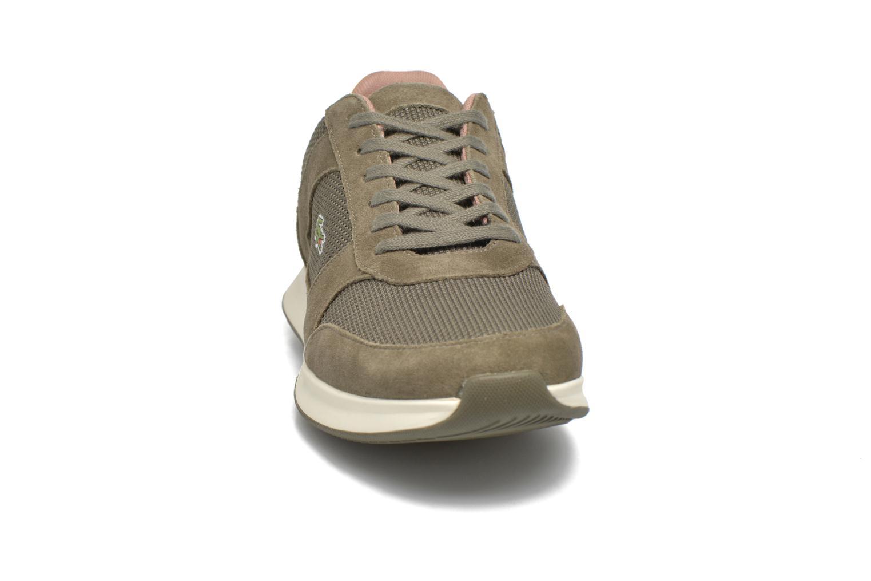 Baskets Lacoste Joggeur 117 1 Vert vue portées chaussures