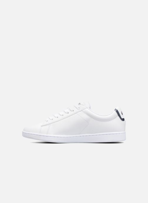 Baskets Lacoste Carnaby Evo BL 1 W Blanc vue face