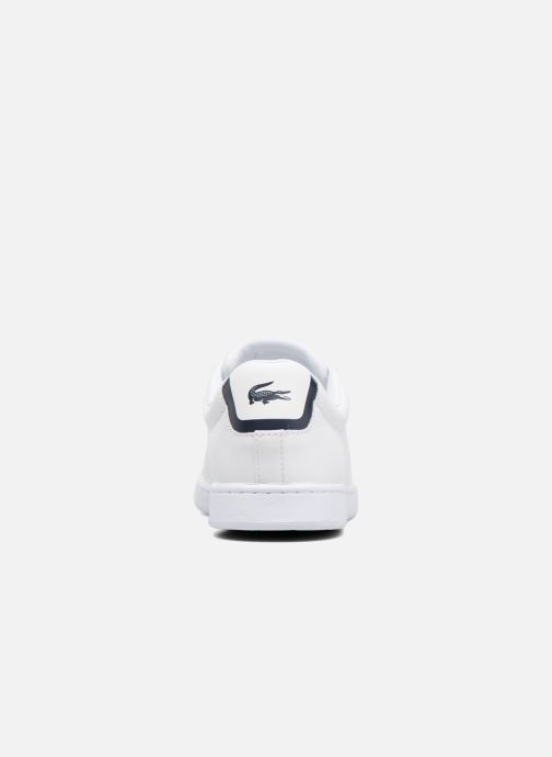 Baskets Lacoste Carnaby Evo BL 1 W Blanc vue droite