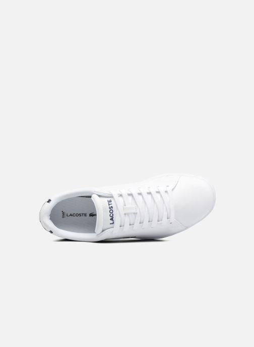 Sneakers Lacoste Carnaby Evo BL 1 W Wit links