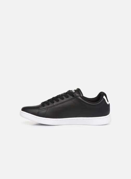 Sneaker Lacoste Carnaby Evo BL 1 W schwarz ansicht von vorne