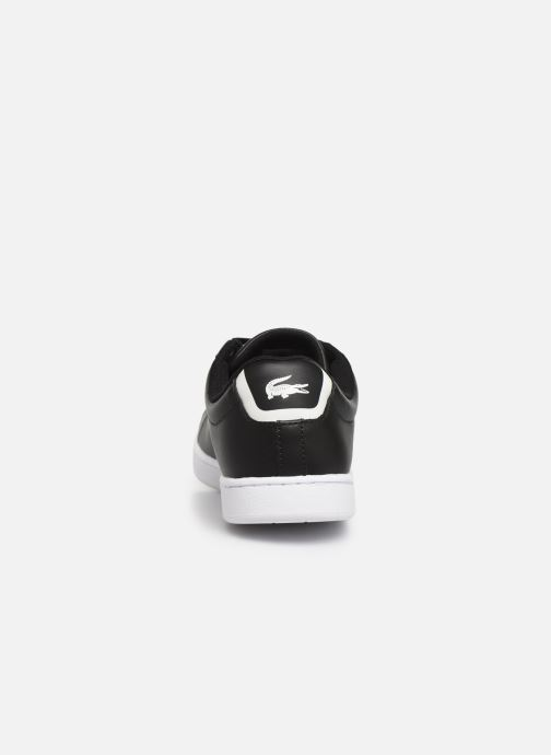 Sneaker Lacoste Carnaby Evo BL 1 W schwarz ansicht von rechts