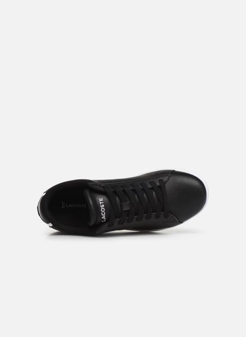 Sneaker Lacoste Carnaby Evo BL 1 W schwarz ansicht von links