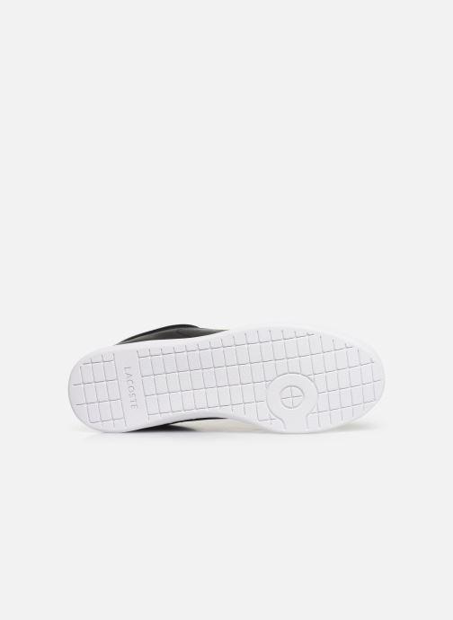 Sneaker Lacoste Carnaby Evo BL 1 W schwarz ansicht von oben