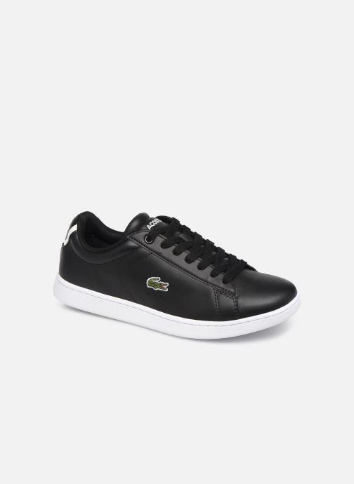 Sneakers Lacoste Carnaby Evo BL 1 W Sort detaljeret billede af skoene