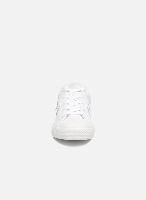 Baskets Converse Star Player Ox W Blanc vue portées chaussures