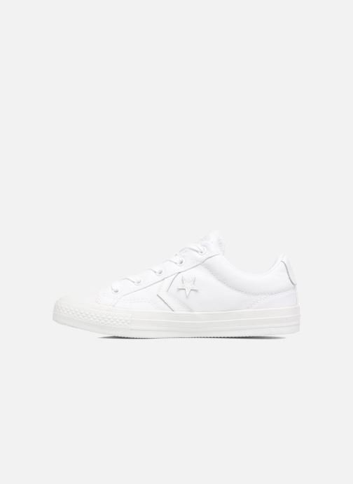 Deportivas Converse Star Player Ox W Blanco vista de frente
