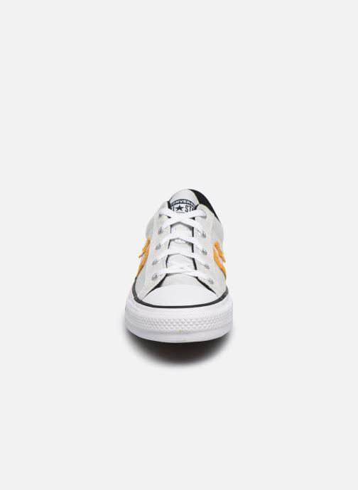 Baskets Converse Star Player Ox W Blanc vue portées chaussures