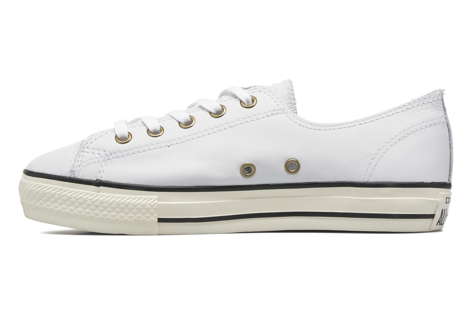 Trainers Converse Chuck Taylor All Star High Line Ox White front view