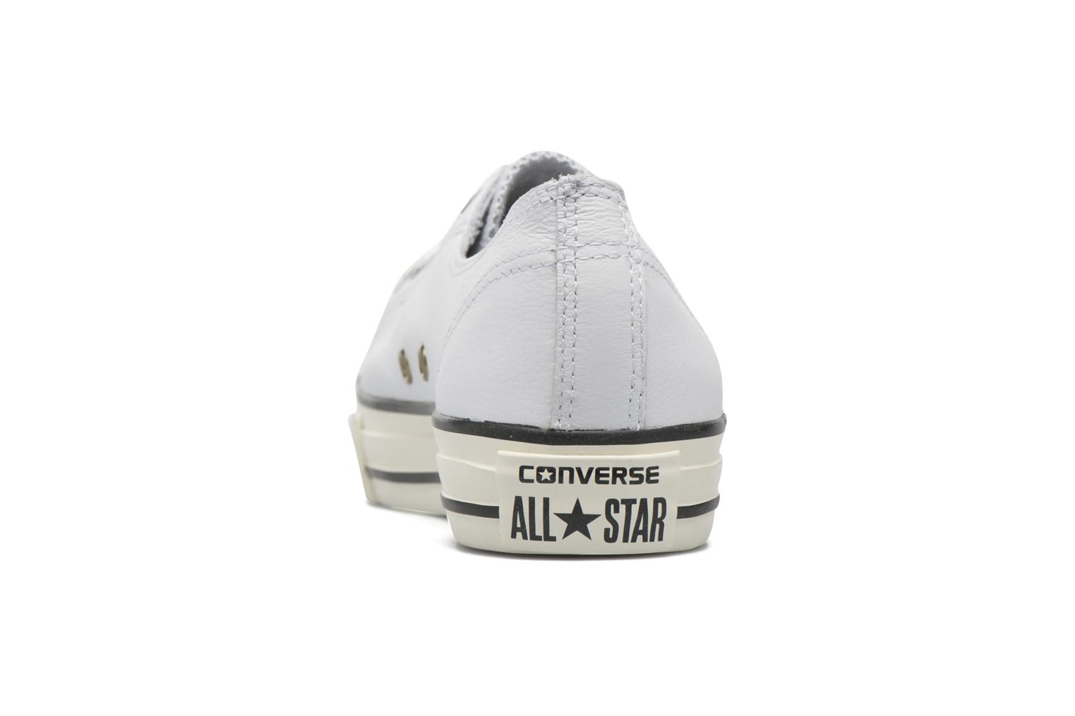 Trainers Converse Chuck Taylor All Star High Line Ox White view from the right