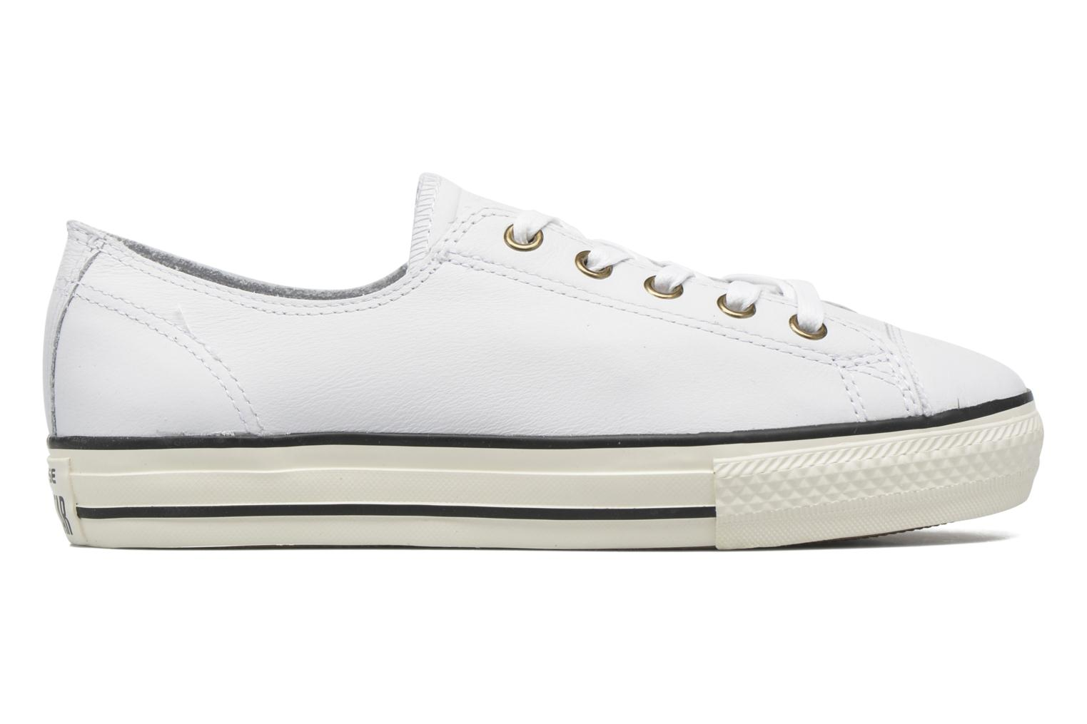Trainers Converse Chuck Taylor All Star High Line Ox White back view