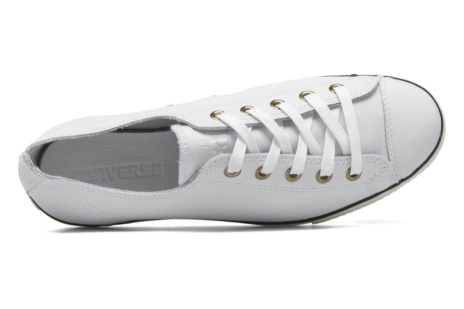 Trainers Converse Chuck Taylor All Star High Line Ox White view from the left
