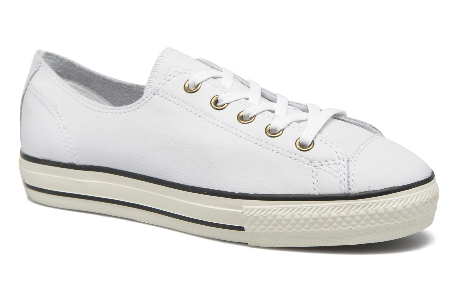Trainers Converse Chuck Taylor All Star High Line Ox White detailed view/ Pair view