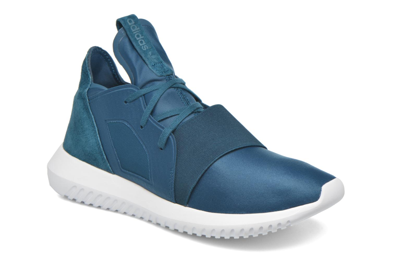 Baskets Adidas Originals Tubular Defiant W Bleu vue détail/paire