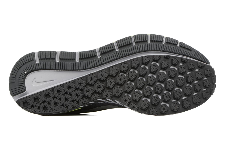 Chaussures de sport Nike Air Zoom Structure 20 Shield Noir vue haut