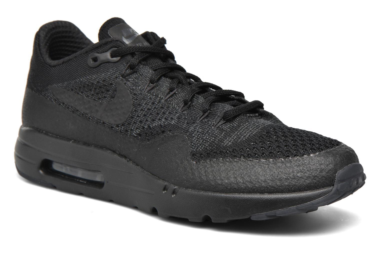 Baskets Nike Nike Air Max 1 Ultra Flyknit Noir vue détail/paire