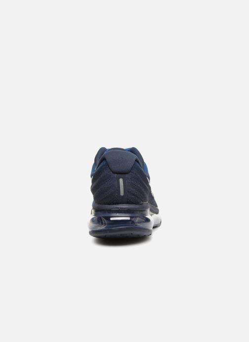 Sportschuhe Nike Nike Air Max 2017 blau ansicht von rechts