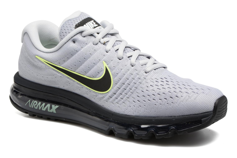 detailed look 0b8fd bd400 ... netherlands chaussures de sport nike nike air max 2017 gris vue détail  paire 9f616 dc3c9 ...