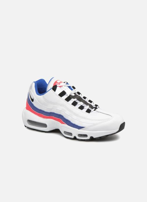 low priced 4a990 bb673 Baskets Nike Nike Air Max 95 Essential Blanc vue détail paire