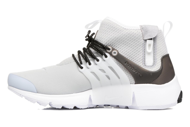 Sneakers Nike Nike Air Presto Mid Utility Grijs voorkant