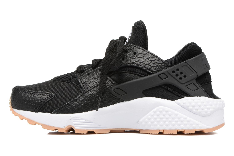 Deportivas Nike W Air Huarache Run Se Negro vista de frente