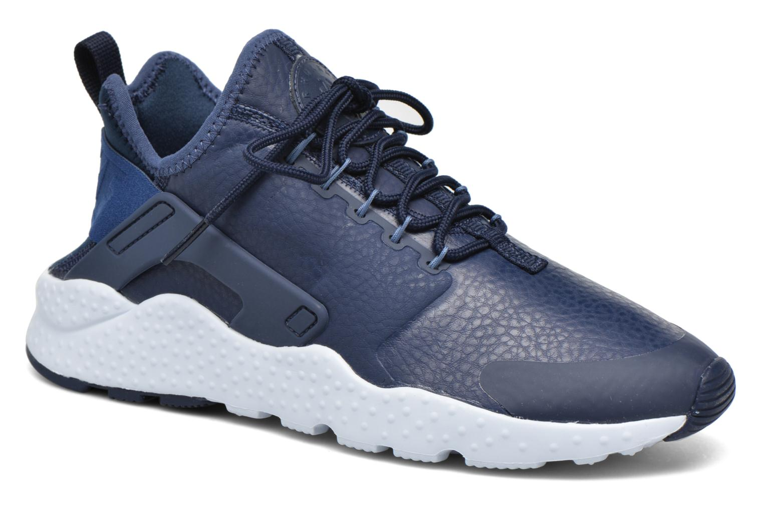 Baskets Nike W Air Huarache Run Ultra Prm Bleu vue détail/paire