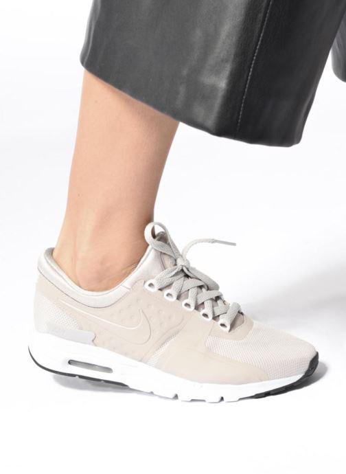 Deportivas Nike W Air Max Zero Gris vista de abajo